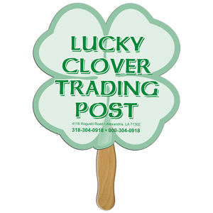 Clover shape fan with