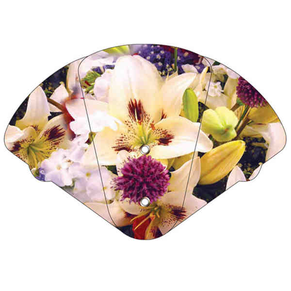 Lily bouquet themed expandable