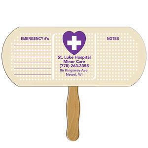 Band aid/pill shape fast