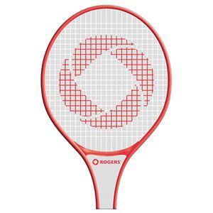 Racket shaped window sign