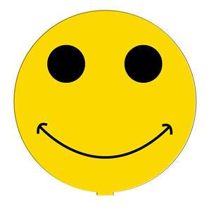 Smiley face shape paper
