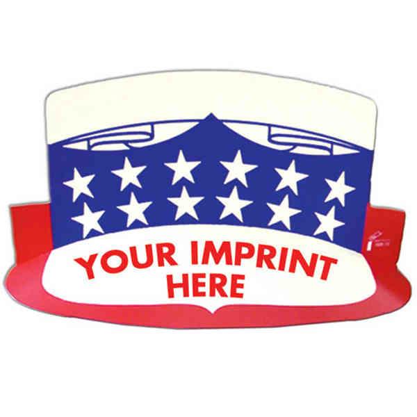 USA visor with elastic
