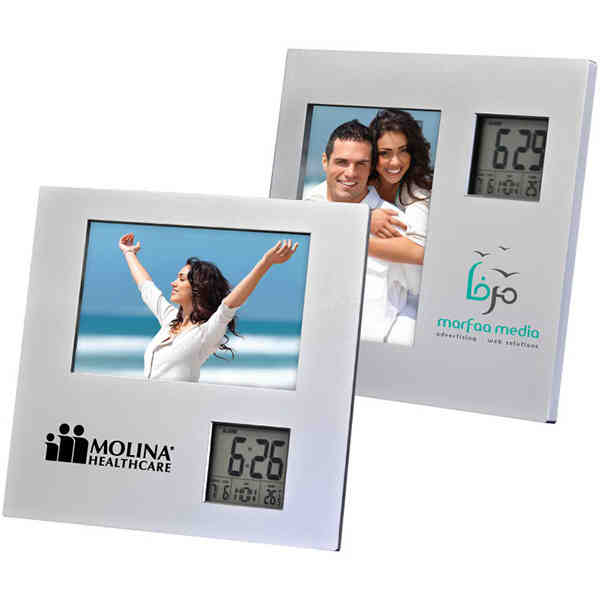 Photo frame with two