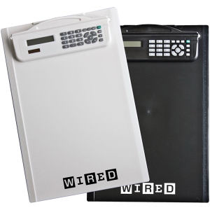 Ruled letter size clipboard