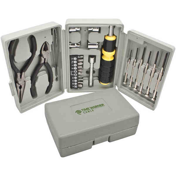 Tool set. Includes screwdrivers,