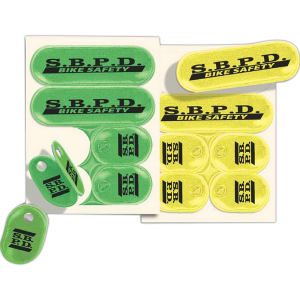 Tag-Stix (TM) Lace-Tags (TM)