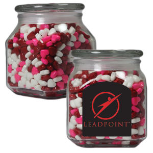 Promotional Apothercary/Candy Jars-MSCJ20-HRT-JAR