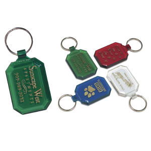 Promotional Vinyl Key Tags-G-350