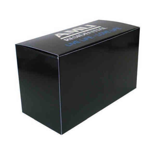 Custom horizontal rectangle box,