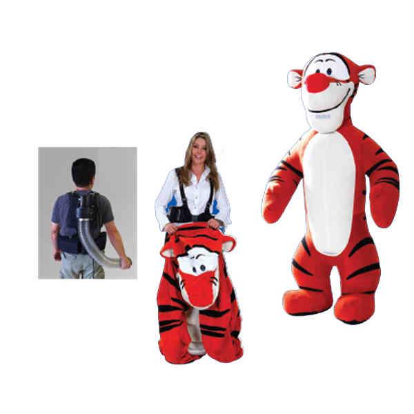 Custom walking ad inflatable