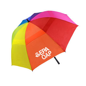 Promotional Golf Umbrellas-15008 Rainbow