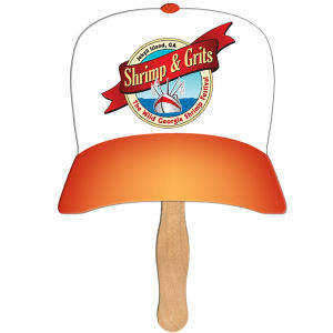 Baseball cap shaped fan