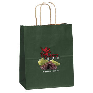 Matte paper shopper with