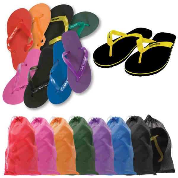 Adult sized flip flops,