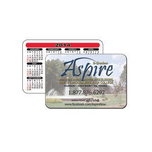 Wallet calendar. 2 1/4