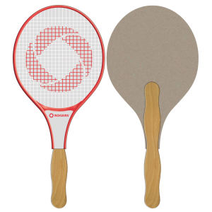 Racquet shaped fan is