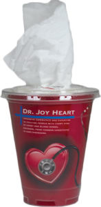 Promotional Tissues/Towelettes-TISSUE-CUP