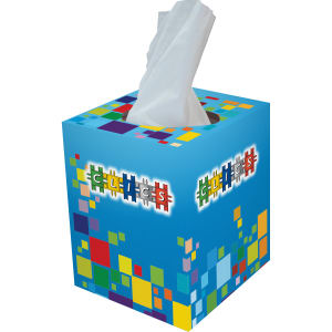 Promotional Tissues/Towelettes-TISSUE-SLEEVE
