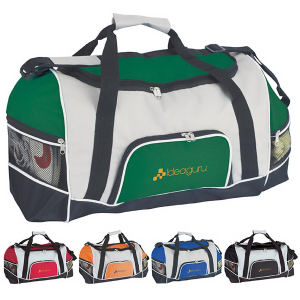 Tri-Pocket Sport Duffel with